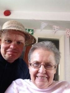Mum and the hat